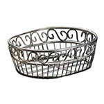 American Metalcraft SSOC97 Basket, 6-3/4 x 9 in Oval, Stainless