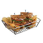 American Metalcraft SSRT962 Basket, 9 in x 6 in x 2-1/2 x, Rectangle, Grid Bottom, Stainless Steel