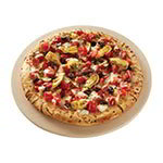 American Metalcraft STONE13 Pizza Baking Stone, Ceramic, 13 in, Round, Dishwasher Safe