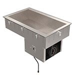 Vollrath 36442R Drop In Remote Refrigerated Cold Pan For 3-Pans, 8-in Deep Well