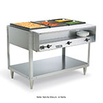 Vollrath 38104 61.25-in Hot Food Table w/ 4-Wells, Plate Shelf & Cut Board, 120 V