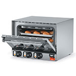 Vollrath 40703 Primo Pro Convection Oven, Countertop, (3) 1/2 Sheet Pans, SS, 110 V