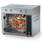 Vollrath 40704 Countertop Rotisserie Oven, (8) 3-lb Chickens/2-Hrs