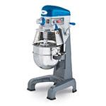 Vollrath 40758 Floor Mixer, 30 qt, 3 Speed, Gear Driven, 1 HP, 110 V, NSF