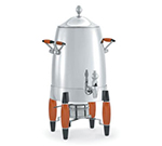 Vollrath 46834 3-Gallon Coffee Urn, Stainless w/ Black & Burnt Maple Accents