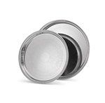 Vollrath 82132 Elegant Reflections Gallery Tray, 15-1/4 in Diameter, Stainless
