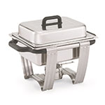 Vollrath 99870 Dakota Half Size Chafer, 4.1 qt, Satin Finish Stainless Steel