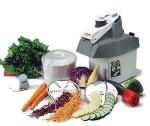 Dito-Electrolux 601411 Food Processor w/ Continuous Feed, 3.2-qt Bowl, S-Blade & 4-Blades