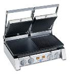 Dito-Electrolux 602116 20-in Dual Sandwich Grill w/ Smooth Cast Iron Plates, 220/1 V