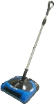 Perfect Vac PCS2 12-in Battery-Powered Multi-Purpose Sweeper w/ EZ Empty Dust Pan