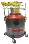 Perfect Vac PWD8 8-Gallon Industrial Strength Wet & Dry Canister Vacuum Cleaner