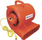 Perfect Vac TC2500 Commercial Stackable Airmover w/ 3-Speed Motor & 4-Positions