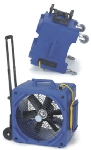 Perfect Vac TC2600 Commercial Downdraft Airmover w/ 2-Speed Motor & Built In Trolley