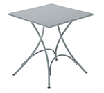 EmuAmericas 907 WHITE Classic Folding Table, 30 in Square, White