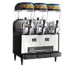 Omega OFS30 Granita Slush Machine w/ (3) 3-Gallon Bowls, 980 Watts, Stainless