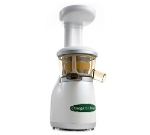 Omega VRT330HD Low Speed Vertical Masticating Juicer w/ Heavy Duty Auger, Pearl White