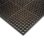 NoTrax 65340 Challenger Economy General Purpose Floor Mat, 3 x 5 ft, 7/8 in Thick, Black