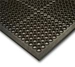 NoTrax 1003923 Competitor General Purpose Floor Mat, 3 x 3 ft, 1/2 in Thick, Black