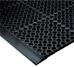 NoTrax 182881 San-EZE Grease Resistant Floor Mat, 39 x 19-1/2 in, 7/8 in Thick, Black