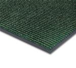 NoTrax 4457-865 Bristol Ridge Scraper Floor Mat, 4 x 6 ft, 1 in Vinyl Border, Forest Green
