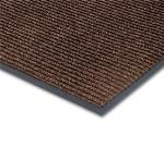 NoTrax 4457-938 Bristol Ridge Scraper Floor Mat, 4 x 20 ft, 1 in Vinyl Border, Coffee