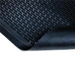 NoTrax 4468246 Ridge Scraper Entrance & C-Store Floor Mat, 4 x 6 ft, 1/4 in Thick, Black
