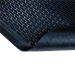 NoTrax 4468247 Ridge Scraper Entrance & C-Store Floor Mat, 3 x 10 ft, 1/4 in Thick, Black