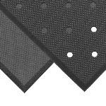 NoTrax T17P0033BL Superfoam Comfort Floor Mat, 3 x 3 ft, 5/8 in Thick, Perforated