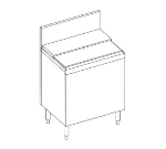 Perlick 7055A62 24-in Free-Standing TS Series Ice Chest w/ 75-lb Capacity, Stainless