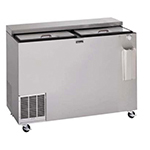 Perlick BC60 60-in Flat Top Bottle Cooler w/ Deep Well, Black