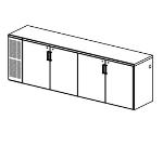 Perlick BS108 Backbar Storage Cabinet w/ Vinyl Coated Shelf, Stainless