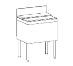 Perlick TS48IC 48-in Modular Ice Chest w/ ABS Top Ledge & Legs, 115-lb, Stainless