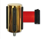 CSL Foodservice & Hospitality 5521-RED Belt Head w/ 9.5-ft Red Belt, Gold Finish