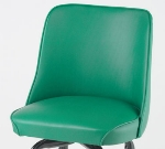 Royal Industries ROY 7714 SGN Replacement Bucket Bar Stool Seat, Green
