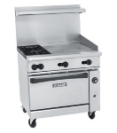 Vulcan-Hart 36S-2B-24G LP 36-in Range w/ 2-Burners, 24-in Griddle & Standard Oven, LP