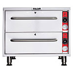 Vulcan-Hart VW2S-1 Warming Drawer, Free-Standing, 2 Self Closing Drawers, SS, 120 V