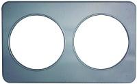 Duke 32 Adaptor Plate - 2, 8.5 in Holes - Stainless Steel