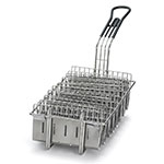 Tablecraft 40 Taco Fry Basket, Holds 8 Taco Shells, Nickel Plated