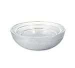 Tablecraft 997C 12-qt Salad Bowl, 15 x 5.5-in, High Impact Styrene