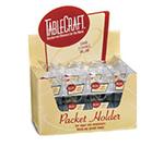 Tablecraft H56CD Sugar Packet Holder, Acrylic