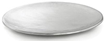 Tablecraft R12 Remington Collection Tray, 12-1/2 in, Round, Stainless Steel