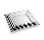 Tablecraft R1818 Remington Collection Tray, 18 in, Square, Stainless Steel