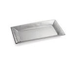 Tablecraft R2212 Remington Collection Tray, 22 x 12 x 1-1/2 in, Rectangular, Stainless Steel