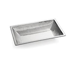 Tablecraft RB2113 Remington Collection Bowl, 21-1/4 x 13 x 3 in, Rectangular, Stainless Steel