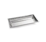 Tablecraft RB2813 Remington Collection Bowl, 27-1/2 x 13-1/2 x 3 in, Rectangular, Stainless Steel