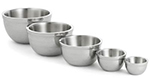 Tablecraft RB53 Remington Collection Bowl, 14 oz, Round, Double Wall, Stainless Steel