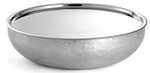 Tablecraft RBS154 Remington Collection Serving Set, 15 x 4, 2 Piece, Round, Double Wall, SS