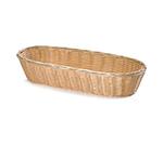Tablecraft 1118W Handwoven Basket, 15 x 6 x 3-in, Polypropylene, Natural, Oblong