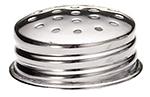 Tablecraft 152T Stainless Steel Salt Pepper Shaker Top, For 152 & 157