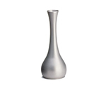 Tablecraft 269 7-in Metal Flower Vase